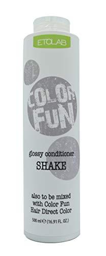 Etolab - Après-shampooing pour utilisation avec coloration semi-permanente, 2x500 ml