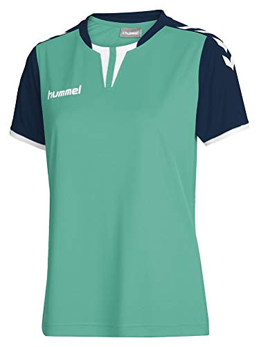 Hummel Damen Trikot Core Short Sleeve Jersey, Atlantis/Marine, XS