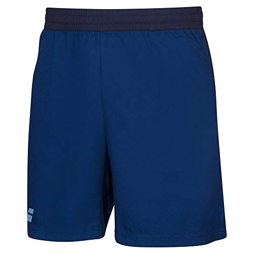 Babolat Boy's Play Tennis Shorts, Estate Blue (US Youth Size 10-12)