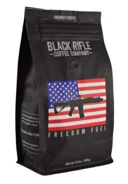 Black Rifle Coffee Company Whole Bean 12oz Bag (Freedom Fuel)