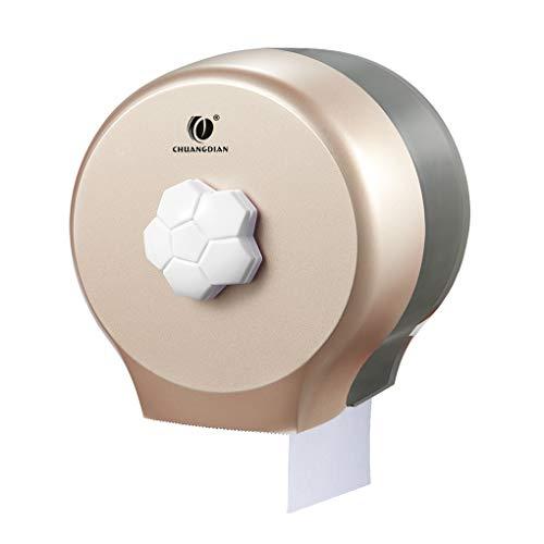 Wmaple Rund Rollenpapier-Halter-Wand-Badezimmer-Gewebe-Zufuhr Rest Room wasserdichte Toilettenpapier-Halter