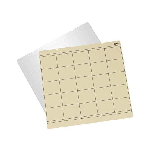 Domeilleur Spring Steel Sheet Heat Bed Platform Printing Buildplate+ PEI Sheet for 3D Printer Prusa i3 Mk3