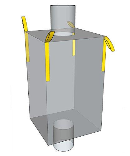 Desabag 1.1047 Big Bag 95x95x220cm, UU, EA, 1.000kg, Weiss