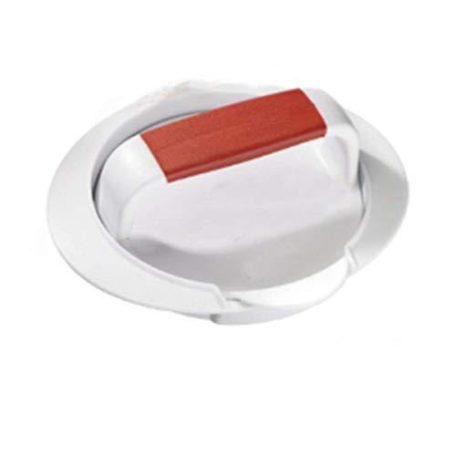 Pressa per hamburger, la pressa per hamburger è divisa in tre parti, dotata di manico anti-scottatura, adatta per fare hamburger, padelle, manzo