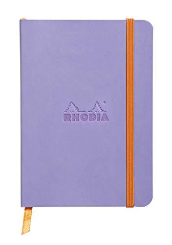 Rhodia 117309C Notizheft (mit weichem Umschlag, liniert, 72 Blatt, DIN A6, 10,5 x 14,8 cm) 1 Stück iris