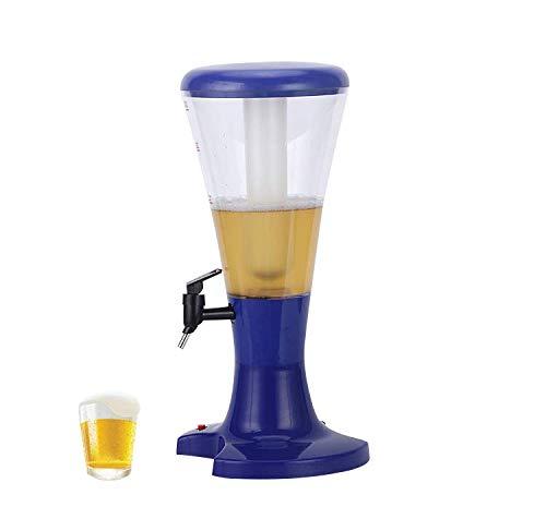 Beer Tour distributeur, Hopsy bière Distributeur, multifonctions Appliquer pour boissons froides, thé, jus de fruits et boissons (Bleu)
