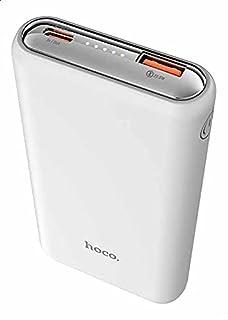 Hoco Q1 Kraft Fully Compatible Power Bank, 10000 mAh, 38.5 W - White