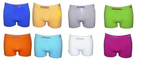 6 Boxershorts Retro Pants Mikrofaser Unterhosen Junge Boy Kinder (140/146) von allerlei4