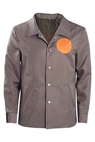 Loki Variant TVA Jacket 2021 Costume Cosplay Adult Prison Uniform Coat Halloween Outfits Unisex Brown