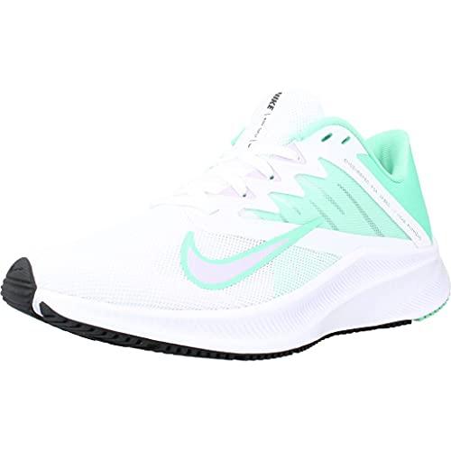 NIKE CD0232 111 Wmns Quest 3, Zapatillas de Running para Mujer, Blanco/Verde, EU 38