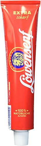 LOEWENSENF Senf Extra, 12er Pack (12 x 200 ml)