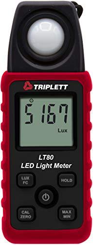 Triplett LT80 LED Illuminance/Light Meter up to 400,000 Lux / 40,000 Fc