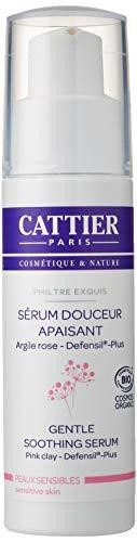 Cattier Beruhigendes Serum mit rosa Heilerde, empfindliche Haut, zertifizierte Naturkosmetik, 30 ml
