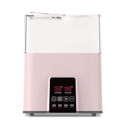 Calentador de biberones rápidos for la fórmula de la leche materna, el esterilizador de vapor del calentador de alimentos for bebés, la pantalla LCD, el control de temperatura preciso, sin BPA, se ada