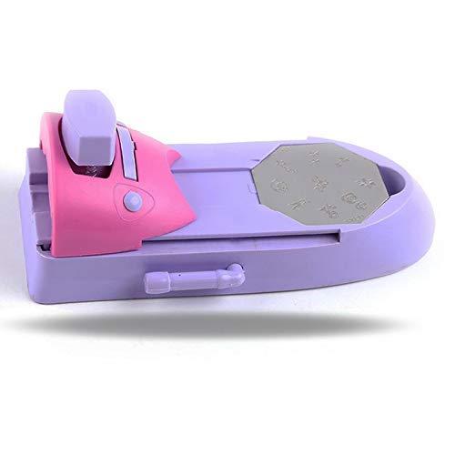 LHKJ Nail Art Stampante,Nail Printing Machine Nail art Tools per Stamping Colori Disegno