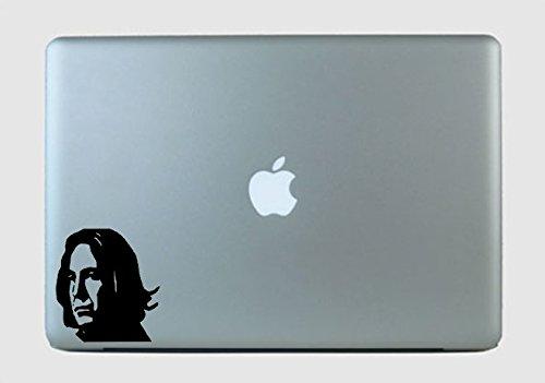 Adesivo de vinil Severus Snape verde maçã