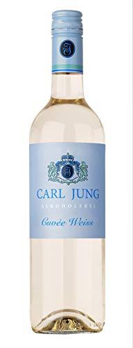 Carl Jung Cuvee Weiss halbtrocken alkoholfrei 0,75 ltr.