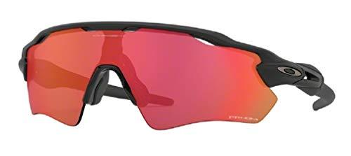 Oakley Radar EV Path OO9208 920890 38M Matte Black/Prizm Trail Torch Sunglasses For Men+BUNDLE with Oakley Accessory Leash Kit