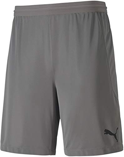 PUMA - Mens Teamfinal 21 Knit Shorts, Size: Large, Color: Steel Gray