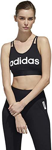 adidas Damen Sport-BH Essential Sport-BH, Black/White, XL, FL0161