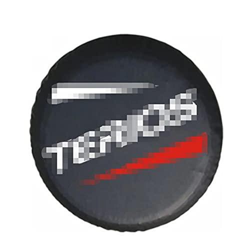 FANGFANG Wying Store 1pcs Car Styling 14', 15 '' 'Pulgada PU DE PVC Cubiertas de válvulas de Rueda de neumáticos de neumático de Repuesto adecuadas para Daihatsu TERIOS Accesorios (Color : 15 Inch)