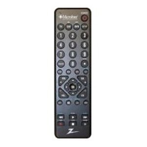 Zenith Universal Remote Control - for Satellite Box, Cable Box, TV, DVD Recorder/VCR - 20 ft Wireless - ZC300MB