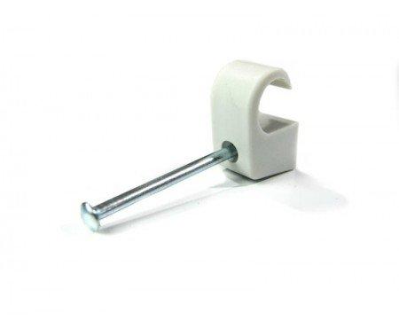 100x Nagelschelle für 7-11mm mit 25mm Nagel Profiqualität von powerpreis24de