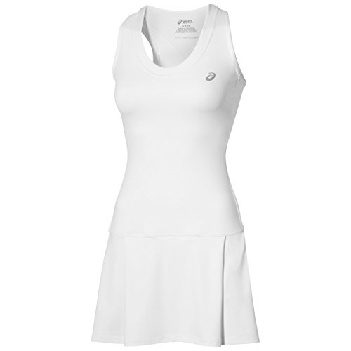 ASICS Oberbekleidung Club Dress Blanco Blanco Talla:Medium