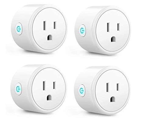 smart plug, MKC mini wifi outlet Compatible with...