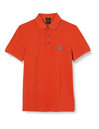 BOSS Herren Poloshirt Passenger, Orange (Dark Orange 805), XX-Large