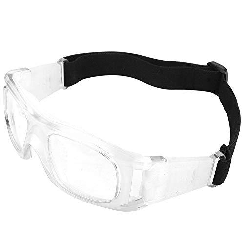 Alomejor Sportbrillen Basketball Dribble Brille Outdoor Sport Trainingshilfe Taktische Brille Persönliche Schutzausrüstung für Männer Frauen(Weiß)