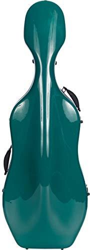 Custodia per Violoncello Fiberglass 4/4 Ultra Light sea green M-Case