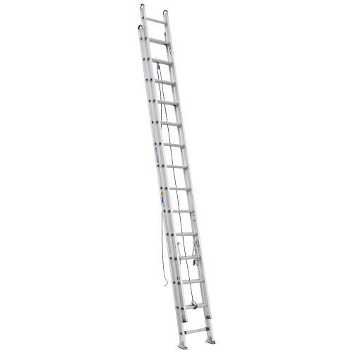 Werner D528-2 375-Pound Duty Rating Type 1AA Aluminum D-Rung Extension Ladder, 28-Foot