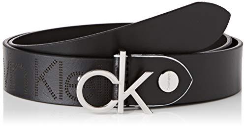 Calvin Klein K60k606077 Cintura, Nero (Black Bds), (Taglia Produttore: 75) Donna