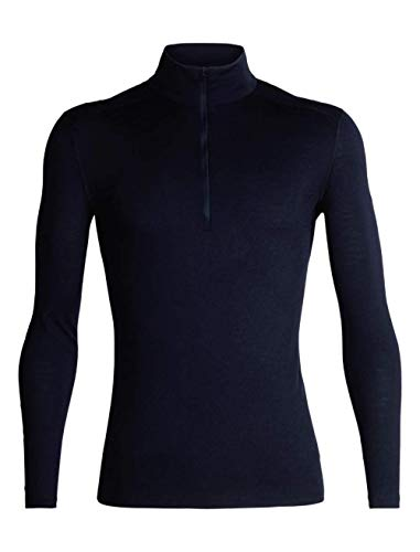 Icebreaker 104367 sous vêtement Thermique Homme Midnight Navy FR : S (Taille Fabricant : S)