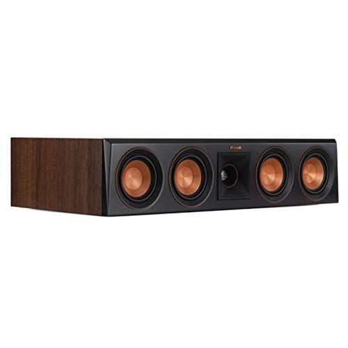 For Sale! Klipsch RP-404C Center Channel Speaker (Walnut) (Renewed)
