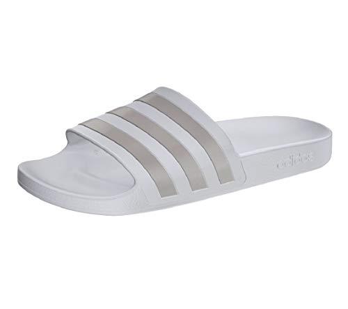 Adidas Adiletten - Chanclas de baño, color Blanco, talla 37 EU