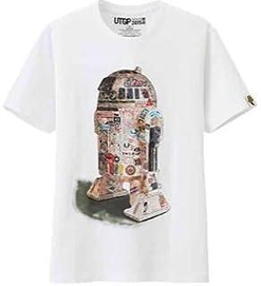 ユニクロ UT スターウォーズ Tシャツ メンズS R2-D2 UTGP2015 R2 ドロイド StarWars スターウオーズ Uniqlo ジーユー ラストジェダイ