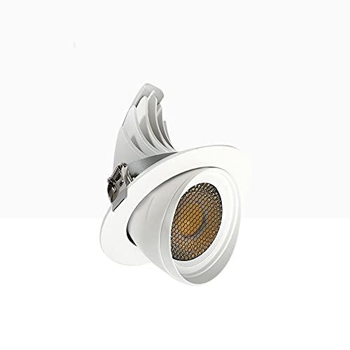 LogIme Luz De Techo Empotrada LED Blanca De 9W / 18W / 24W / 35W, Alta Reproducción De Color De 3000K,...