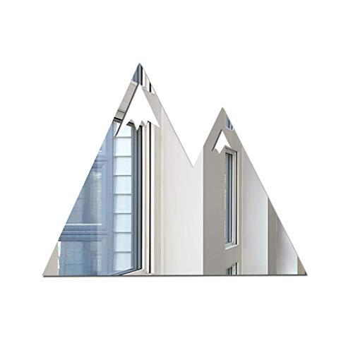 Find Discount Nordic Acrylic Mirror - Tiles Sheet Adhesive Wall Mirror Flexible Self Adhesive Mirror...