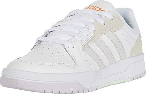 adidas Women's Entrap Sneaker, FTWR White/Dash Grey/Amber Tint, 10.5 M US