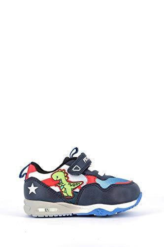 PRIMIGI 7448911 Sneakers Scarpe Bambino Blu Primi ipassi LUCI A LED 21/Bianco