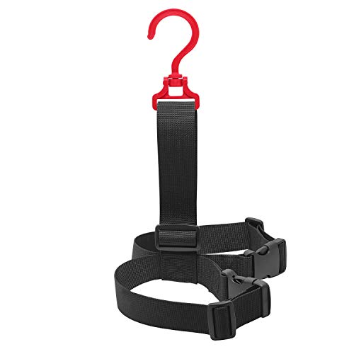 SAMSFX - Cinturón para colgar botas de pesca y de vadeo, para almacenamiento en estanterías