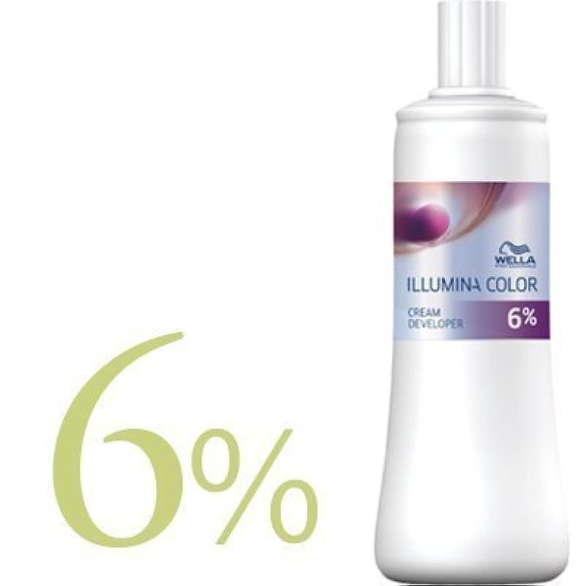 ランドマークにもかかわらずディレクトリウエラ イルミナカラー クリームディベロッパー 2剤 1000ml 【WELLA】(6%)
