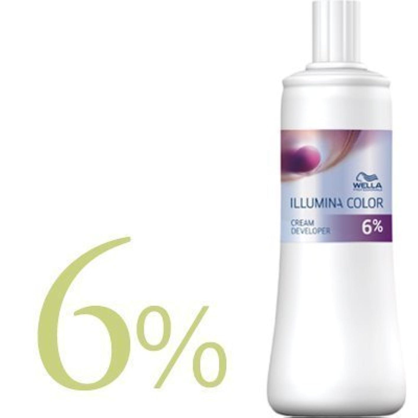 まさにアイザックヒープウエラ イルミナカラー クリームディベロッパー 2剤 1000ml 【WELLA】(6%)