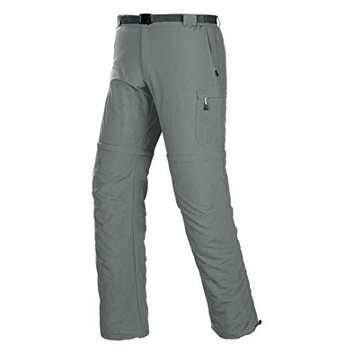TRANGO PC006750 Pantalones, Hombre, Gris (Niebla), S