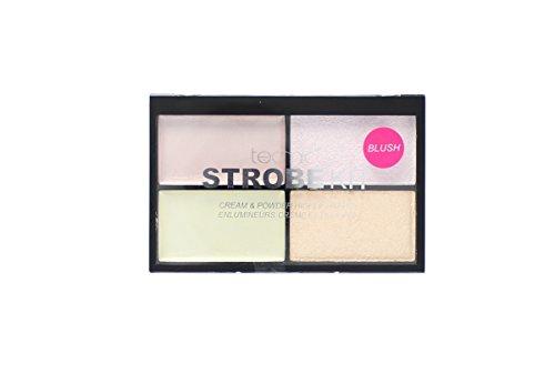 Technic Strobe Kit 2 Cream & 2 Powder Highlighter Palette - Blush