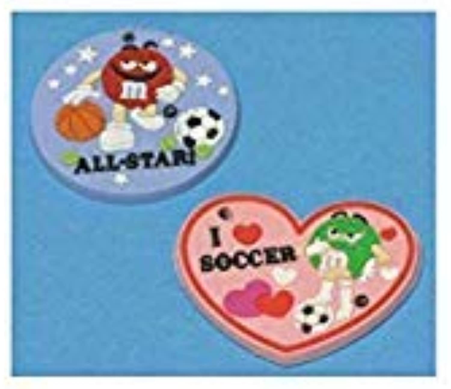 Dollhouse Miniature Soccer and All Star Sports Plaques Set of 2 Assrt