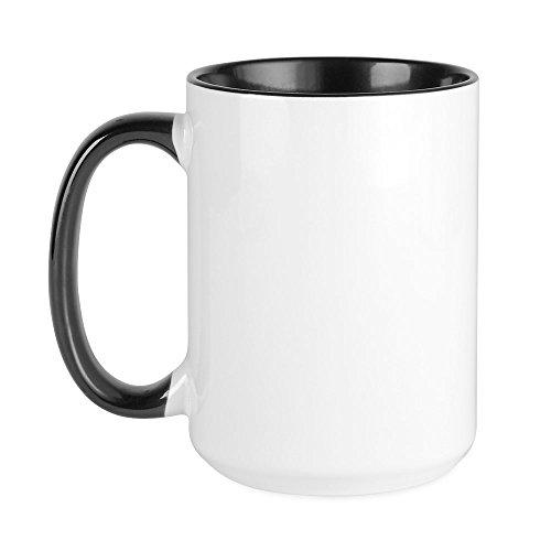CafePress - Große Tasse mit Jungfrau-Motiv, 425 ml, weiße Kaffeetasse
