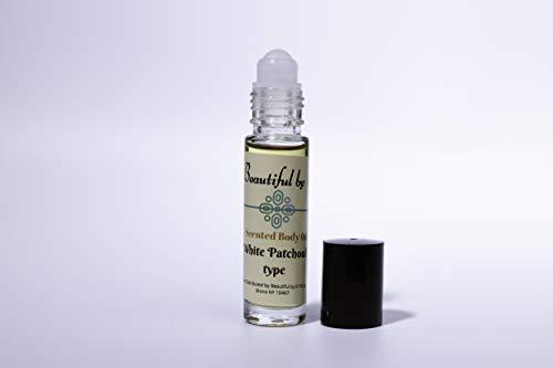 Aceite corporal perfumado de pachulí blanco